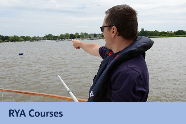 RYA approved courses in Suffolk and Norfolk