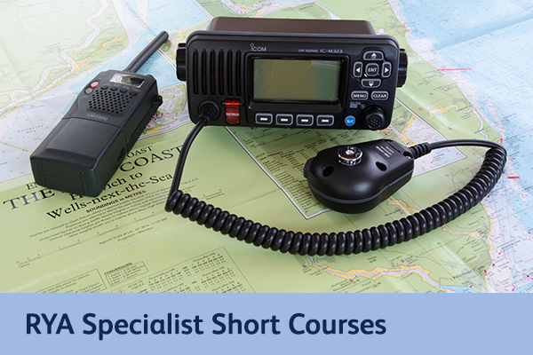 RYA Specialist Short Courses for Suffolk and Norfolk
